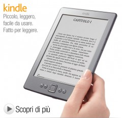 amazon it,amazon italia,lettore e-book,lettore ebook reader,miglior ebook reader